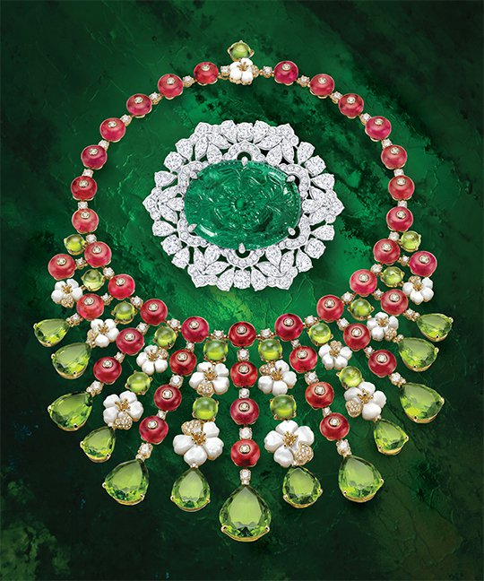 Emeralds Bulgari-profumo-di-capri-necklace