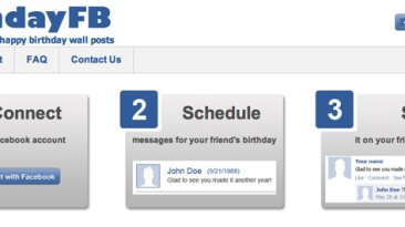 Send Automatic Facebook Birthday Wishes With App