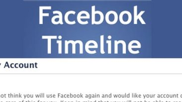delete disable remove facebook timline