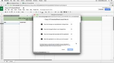 google drive password protect lo