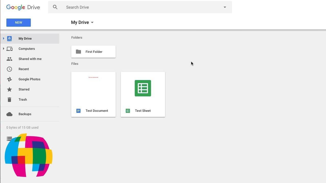 Google Drive Tutorial 2018