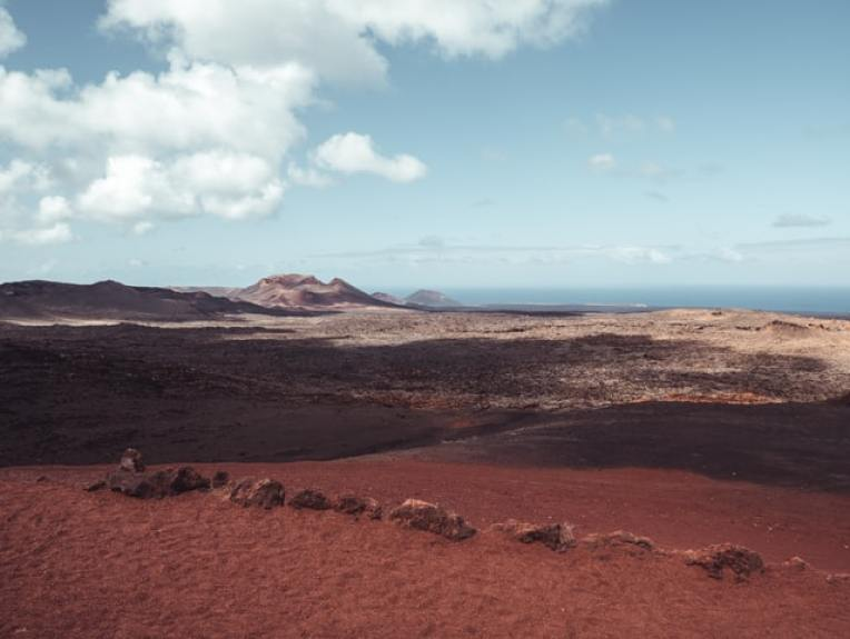 Volcán. Montañas del Fuego. Lanzarote