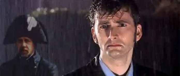 David tennant in the rain