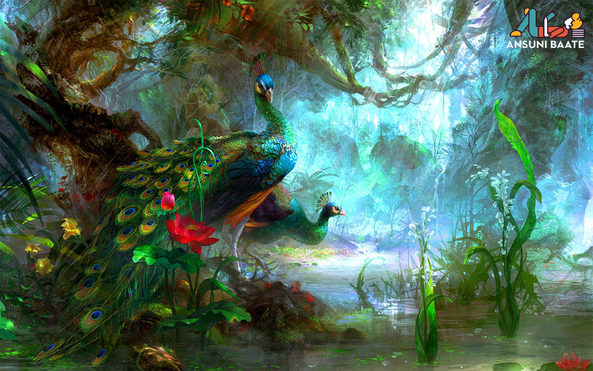 Peacock Images Photo Pictures Hd Wallpaper Free Download Ansunibaate