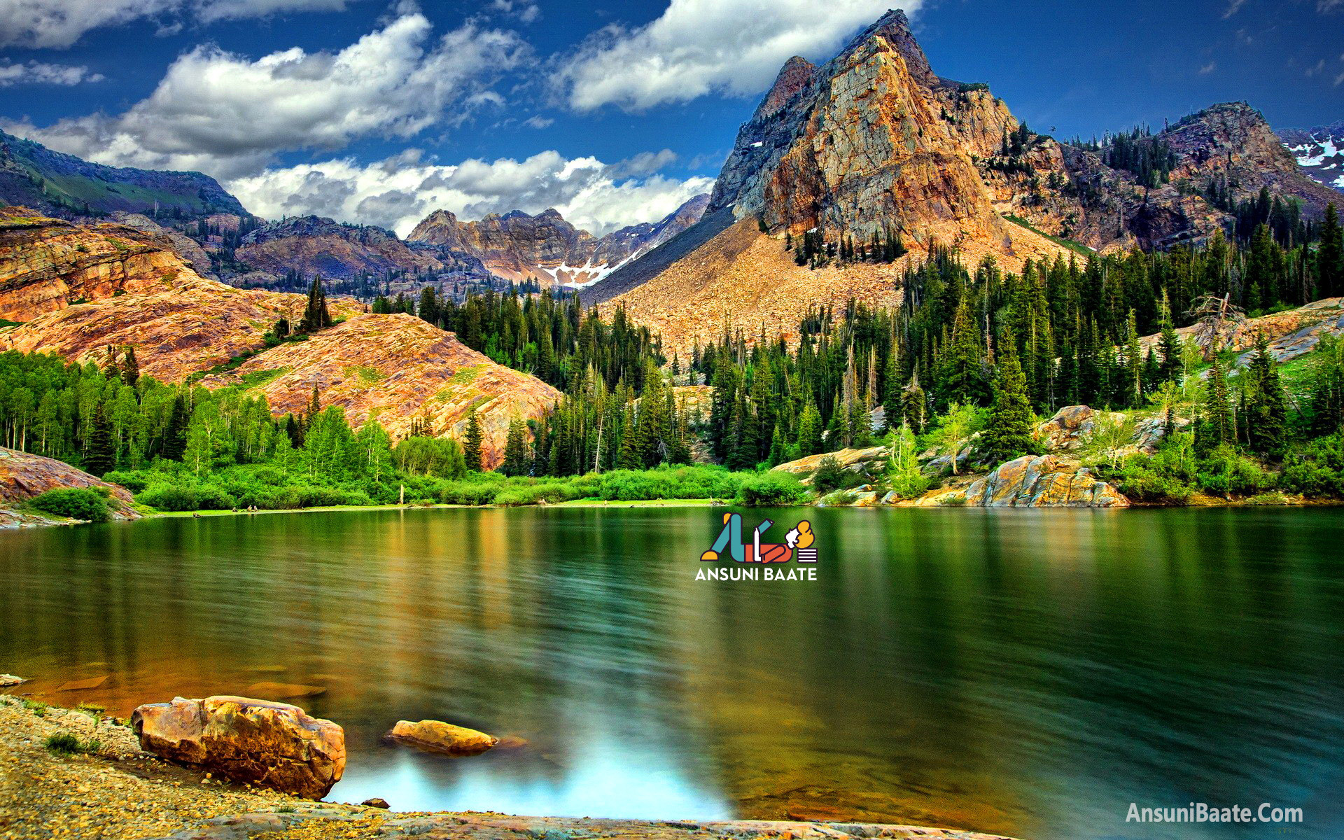 A collection of landscape photos from different national parks. Nature Wallpaper Full HD Gallery Images Photo Free ...