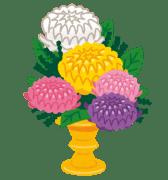 仏壇の花の飾り方は?法事で使う種類や色の選び方