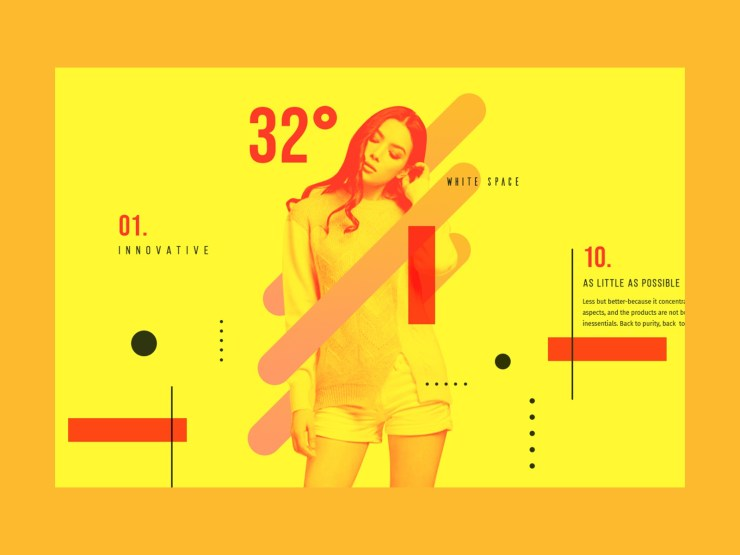 Collaboration of photos and illustration trends 3