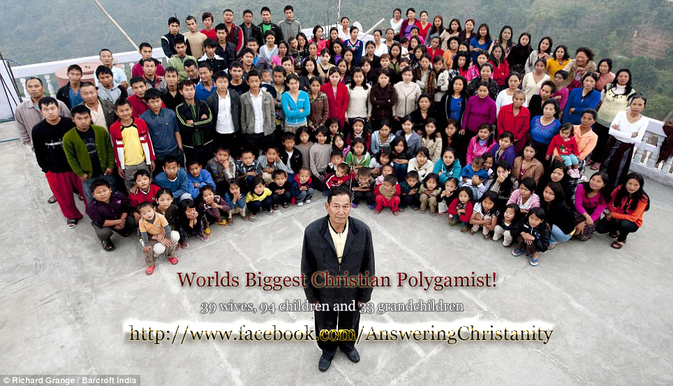 Worlds Biggest Christian Polygamist :: Polygamy in Christianity (1/5)