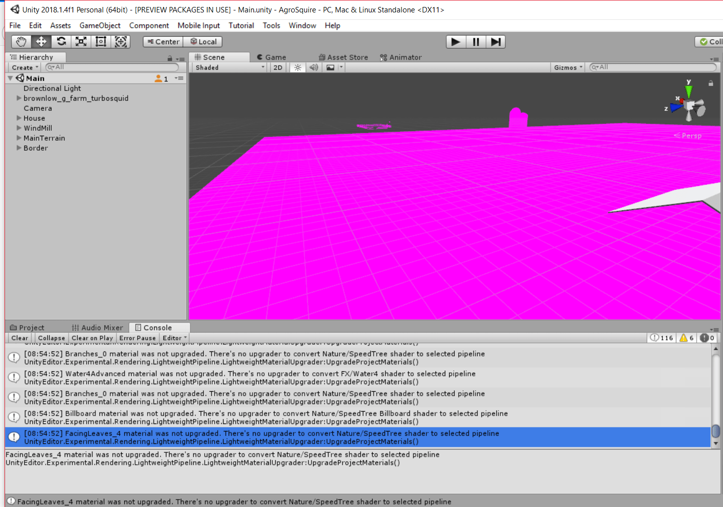 Unity 5 New Project Default Shaders Are Pink Unity Answers – Home