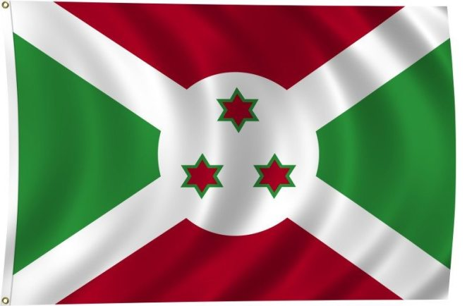 Flag of Burundi - 10 Most Dangerous Countries in Africa