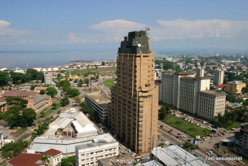 Vue de Sozacom, Kinshasa, 2004.
