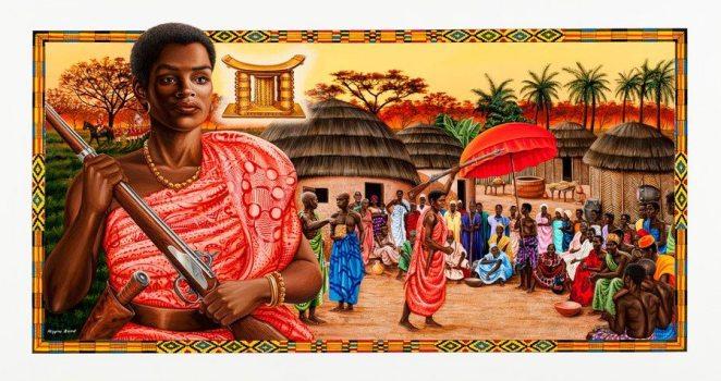 Yaa Asantewa -- Ashanti kingdom
