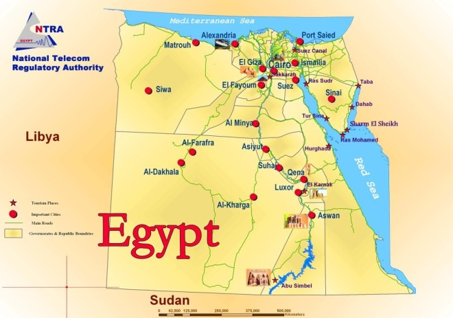 These Are Most Beautiful Maps Of African Countries Is Your - Map of egypt country