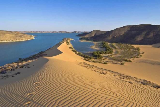 The Nubian Desert