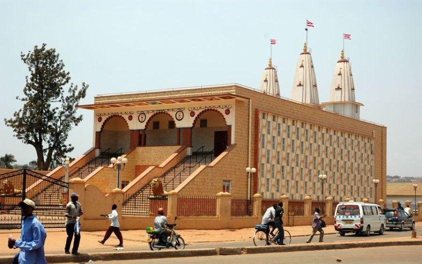 Hindu temple kampala