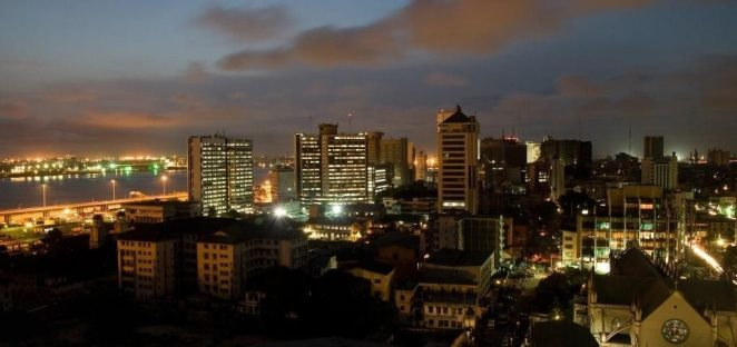 Lagos Night Photo