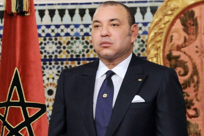 A handout picture shows Morocco's King Mohammed VI giving a speech to mark the 60th anniversary of the People and the King's Revolution in Rabat on August 20, 2013. AFP PHOTO / Azzouz BoukallouchAZZOUZ BOUKALLOUCH/AFP/Getty Images