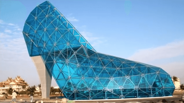 object-shaped buildings