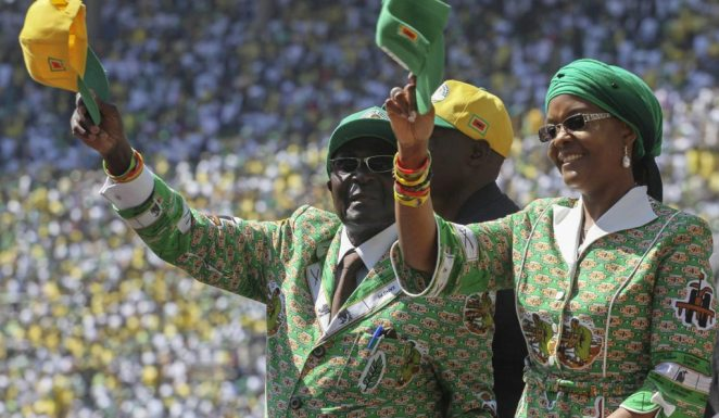 Presidential elections rally in Zimbabwe