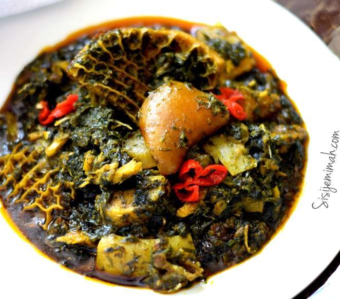 afang soup african soups
