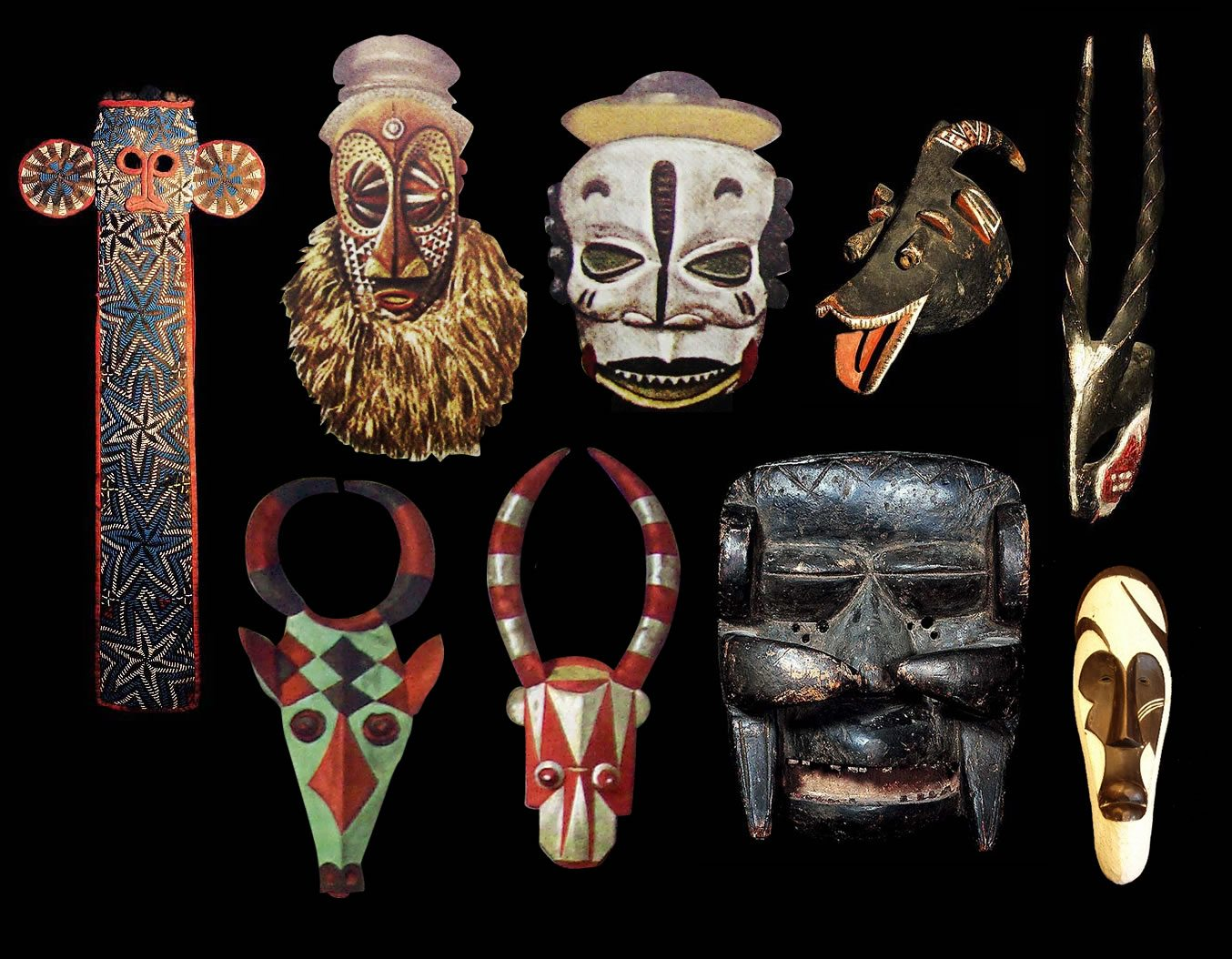 African Masks Types Meanings History Designs