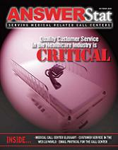 The Oct/Nov 2007 issue of AnswerStat magazine