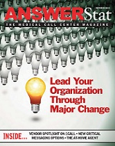 The Oct/Nov 2011 issue of AnswerStat magazine