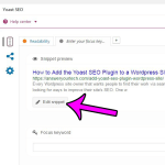 How to Add a Meta Description to a Post Using the Yoast SEO Plugin in WordPress