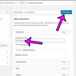 how to change anchor text in a Wordpress menu link
