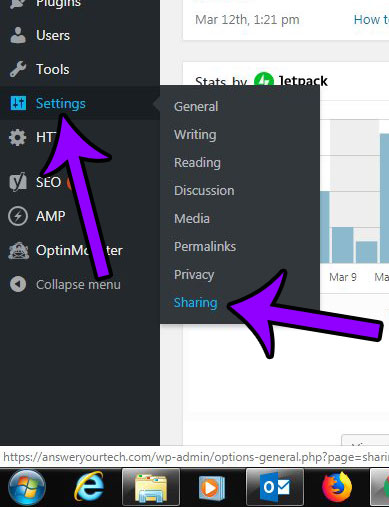 How to Add or Remove Jetpack Sharing Buttons in Wordpress