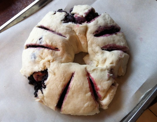 blackberry roll unbaked