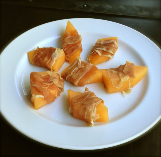 prosciutto wrapped melon paleo diet challenge