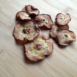 oven dried bosc pear slices after a week