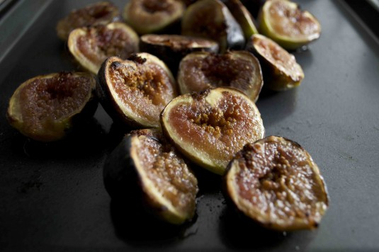 phyllo cups for dessert broiled figs