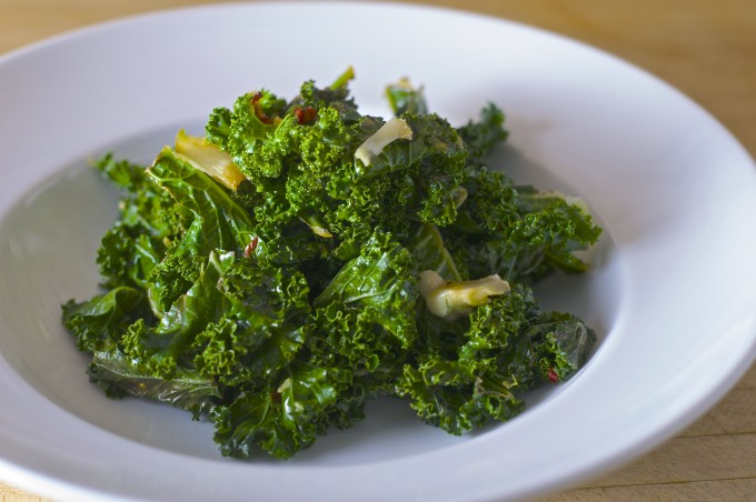 sauteed kale garlic lemon chili final