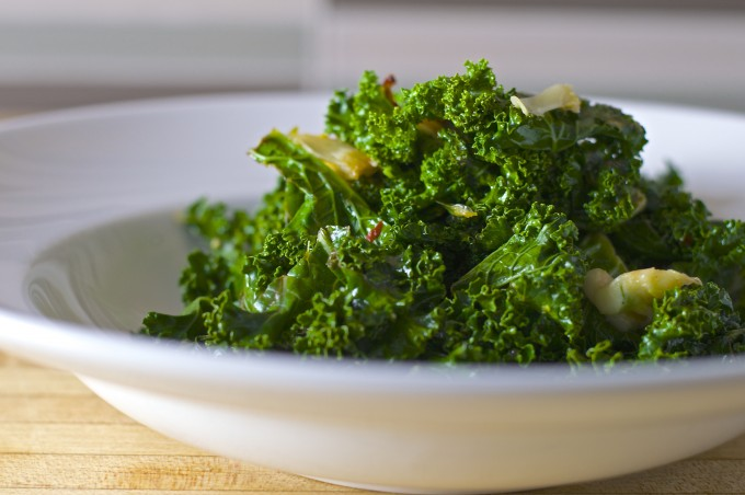 sauteed kale garlic lemon chili final1