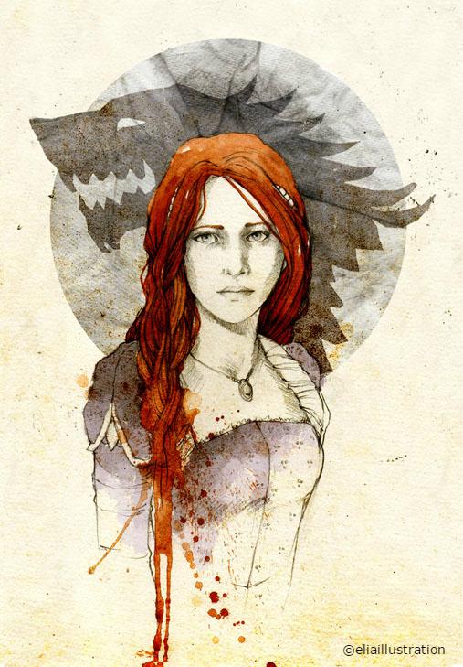 Illustration Sansa Stark