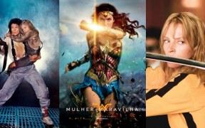 Alien, Wonder Woman, Kill Bill