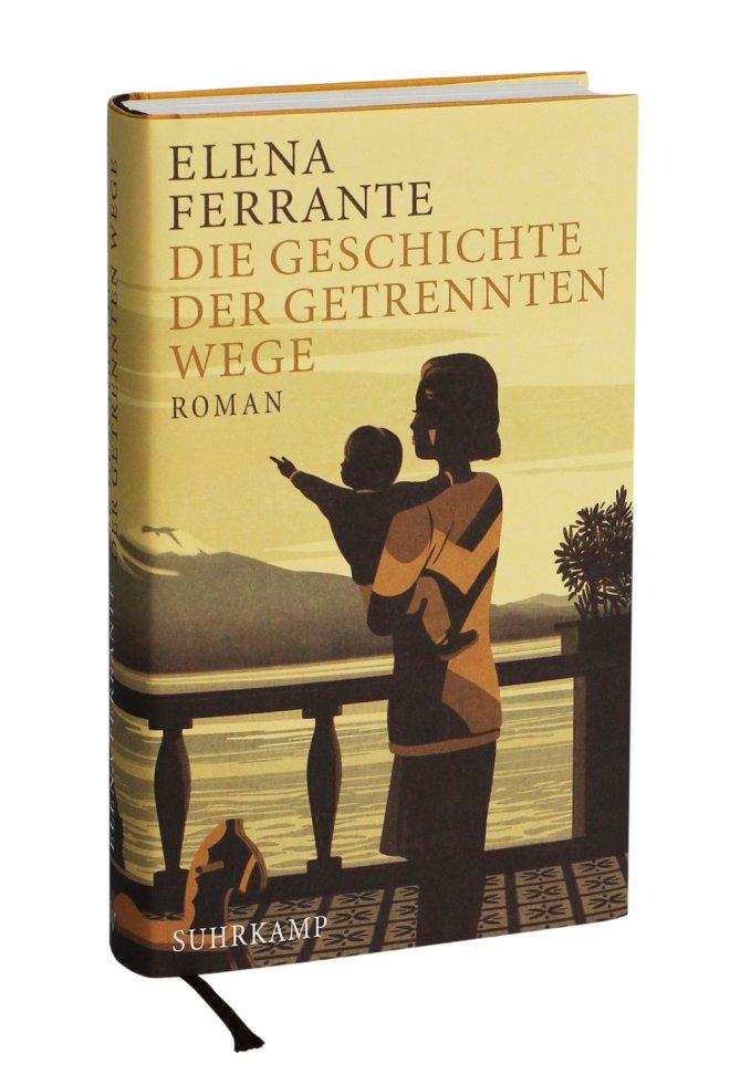 Die Geschichte der getrennten Wege, Elena Ferrante, Cover