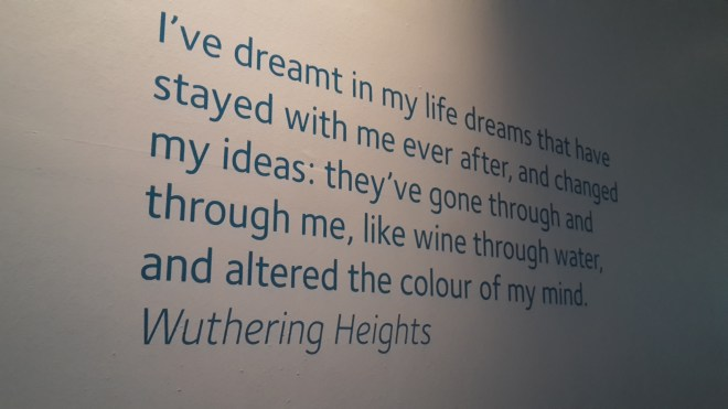 Bronte Museum Zitat Wuthering Heights