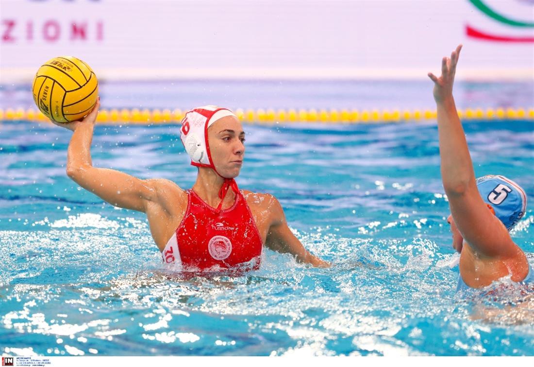 Ολυμπιακός - πόλο γυναικών