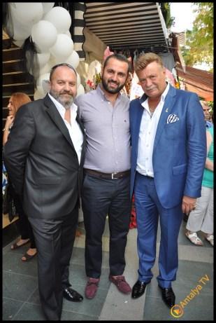 Talya Cafe Bistro- Nuri Alço, Fidan İlteray, Antalya TV, Muhabir Rüya Kürümoğlu (254)