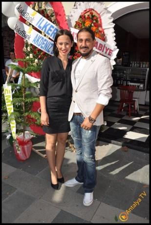 Talya Cafe Bistro- Nuri Alço, Fidan İlteray, Antalya TV, Muhabir Rüya Kürümoğlu (273)