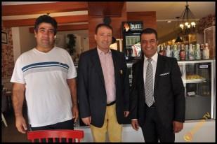 Talya Cafe Bistro- Nuri Alço, Fidan İlteray, Antalya TV, Muhabir Rüya Kürümoğlu (305)