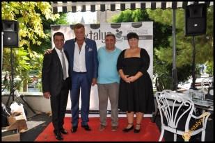 Talya Cafe Bistro- Nuri Alço, Fidan İlteray, Antalya TV, Muhabir Rüya Kürümoğlu (5)
