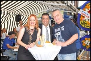 Talya Cafe Bistro- Nuri Alço, Fidan İlteray, Antalya TV, Muhabir Rüya Kürümoğlu (60)