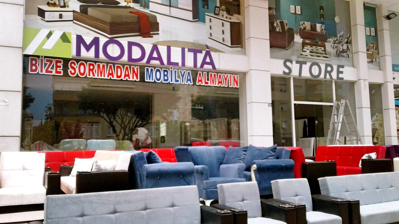 MODALITA  STORE Mobilya mağazası BUGÜN  Uncalı'da AÇILIYOR
