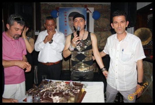 Ömrüm Deniz Restaurant- Prens Boran Doğum Günü- Antalya TV- Muhabir Rüya Kürümoğlu (15)