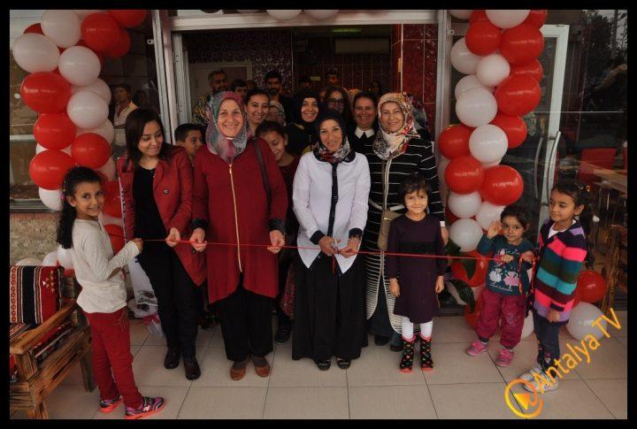 Nar Çiçeği Unlu Mamülleri Kepez'de Açıldı..