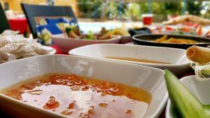 Dimçayı Panorama Piknik'de ister çay kenarında isterseniz havuz başında kahvaltı...